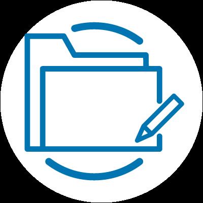 Dokumentenmanagement - Bürosysteme Icon
